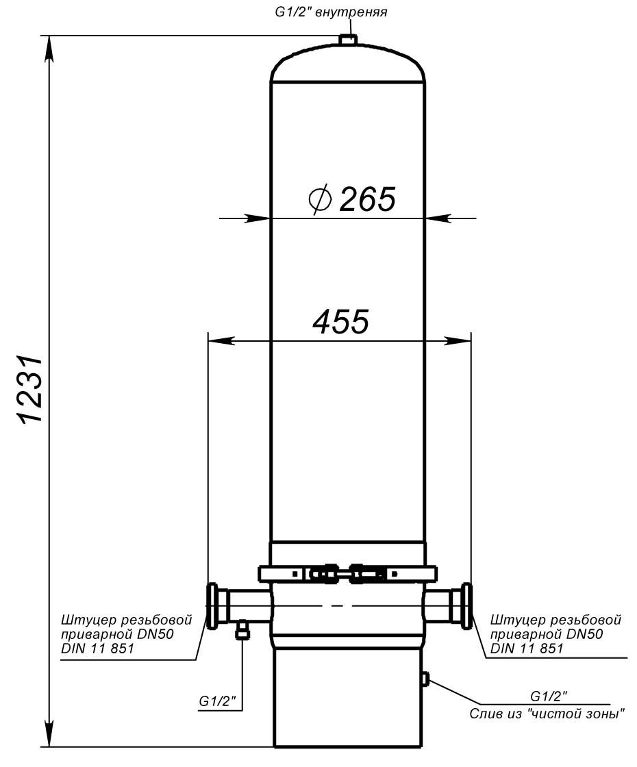 картриджный фильтр ПФ8-3