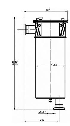 мешочный фильтр МФ-10